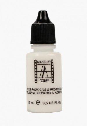 Клей для накладных ресниц Make-up Atelier Paris. Цвет: прозрачный