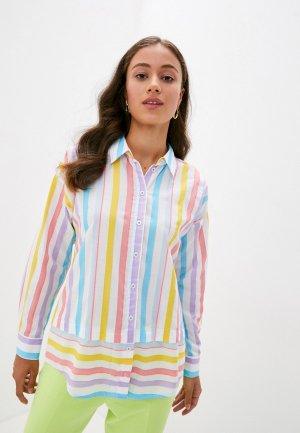 Рубашка Madeleine. Цвет: разноцветный