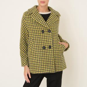 Пальто PROMETEO MOMONI. Цвет: желтый/ черный