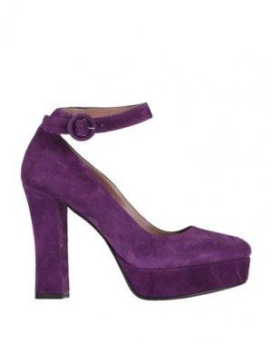 Туфли ALBANO. Цвет: розовато-лиловый