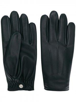 Классические перчатки Sandro Paris. Цвет: зеленый
