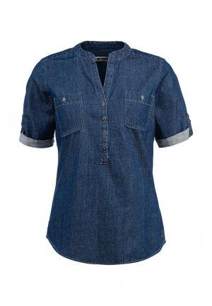 Рубашка джинсовая Colorado Jeans. Цвет: синий