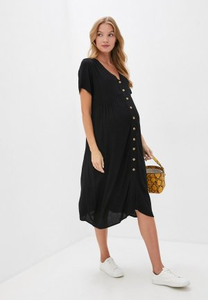 Платье Cotton On. Цвет: черный