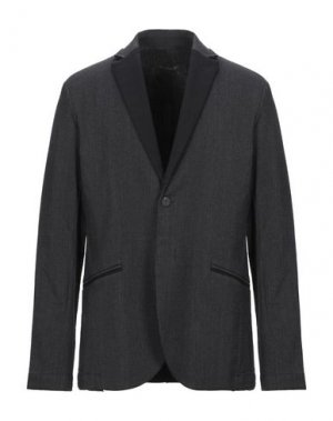 Пиджак TRANSIT. Цвет: стальной серый