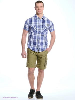 Рубашка CMP. Цвет: синий