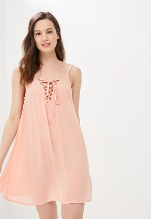 Сарафан Roxy. Цвет: розовый