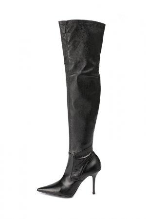 Сапоги Le Silla. Цвет: черный