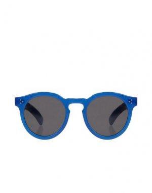 Солнечные очки ILLESTEVA. Цвет: синий