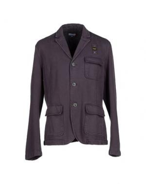 Пиджак BLAUER. Цвет: темно-синий