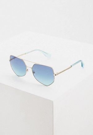 Очки солнцезащитные Marc Jacobs 326/S MVU. Цвет: синий