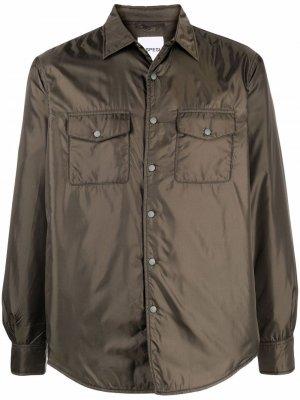 Куртка-рубашка Aspesi. Цвет: зеленый