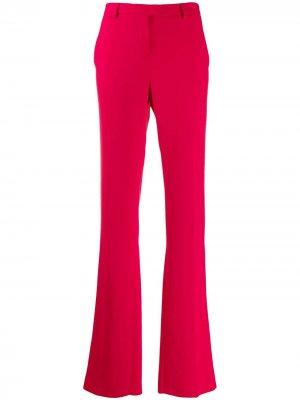 High-waisted flared trousers Roberto Cavalli. Цвет: розовый
