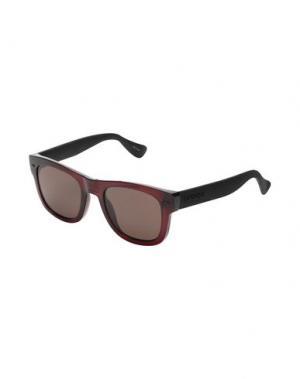 Солнечные очки HAVAIANAS. Цвет: красно-коричневый