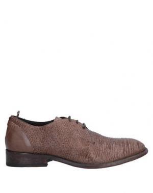 Обувь на шнурках ERNESTO DOLANI. Цвет: какао