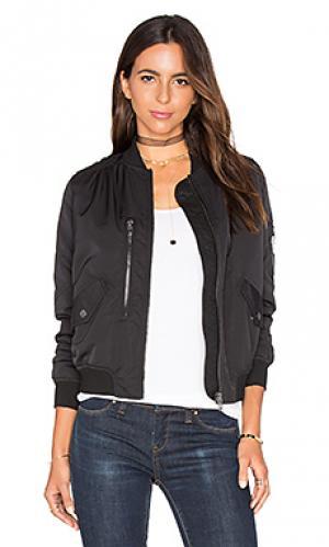 Куртка бомбер BLANKNYC. Цвет: черный