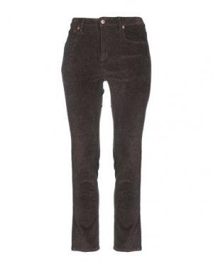 Повседневные брюки ALTAMONT. Цвет: темно-коричневый