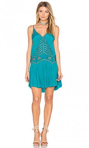 Платье soho Tiare Hawaii. Цвет: зеленый