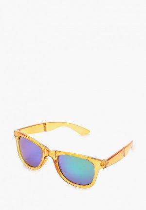 Очки солнцезащитные Jack & Jones. Цвет: желтый