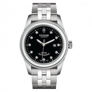 Часы Glamour Date Tudor. Цвет: чёрный