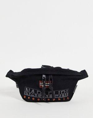 Черная сумка-кошелек на пояс Hering WB 2-Черный цвет Napapijri
