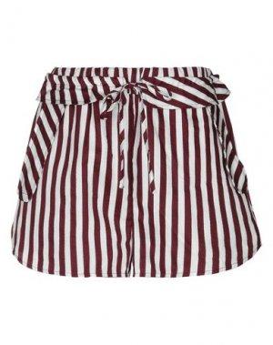 Повседневные шорты ELEVEN PARIS. Цвет: красно-коричневый
