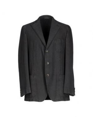 Пиджак EIDOS. Цвет: стальной серый