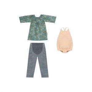 Одежда для куклы мама Джинджер Maileg. Цвет: разноцветный