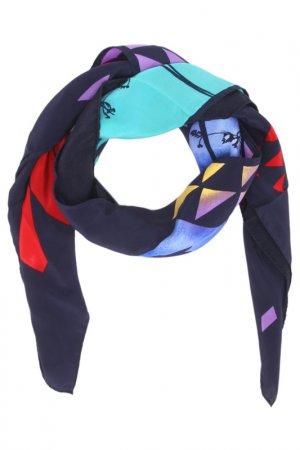 Платок F.FRANTELLI. Цвет: черный, синий, красный