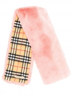 Шаль в клетку Vintage Check Burberry. Цвет: розовый