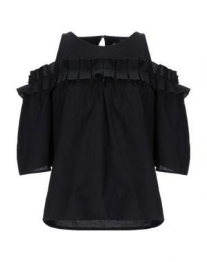 Блузка ALPHA STUDIO. Цвет: черный