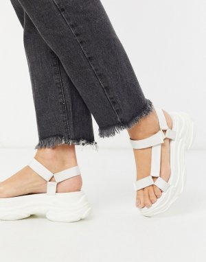 Белые сандалии в спортивном стиле RAID-Белый Raid