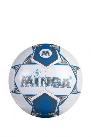Мяч Minsa. Цвет: синий, белый