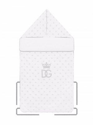 Конверт с логотипом DG Dolce & Gabbana Kids. Цвет: белый
