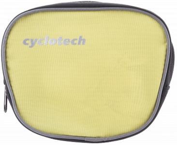 Велосипедная сумка Cyclotech. Цвет: желтый