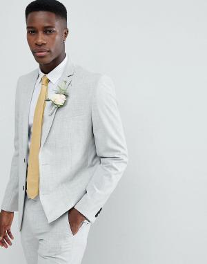 Приталенный пиджак Farah-Серый Farah Smart