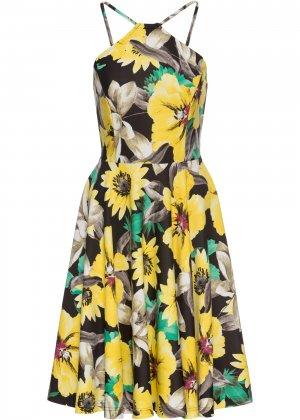 Платье bonprix. Цвет: желтый