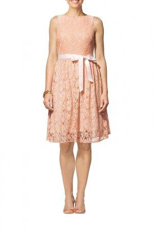Платье Apart. Цвет: абрикосовый, кремовый
