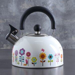 Чайник со свистком 1,9 л Доляна