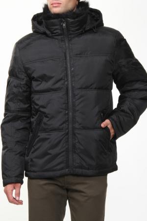 Куртка CITY. Цвет: черный