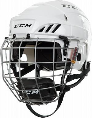 Шлем хоккейный детский HTC FITLITE 40 CCM. Цвет: белый