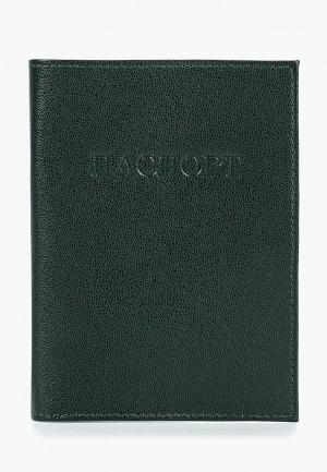 Обложка для паспорта Olci. Цвет: зеленый