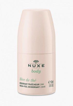 Дезодорант Nuxe BODY REVE DE THE, 50 мл. Цвет: прозрачный