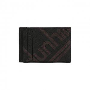 Футляр для кредитных карт Dunhill. Цвет: чёрный