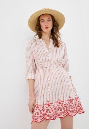 Платье пляжное Seafolly Australia. Цвет: красный