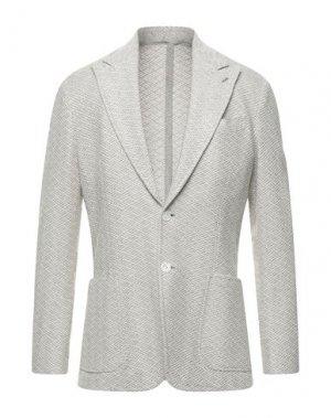 Пиджак SARTORIO. Цвет: светло-серый