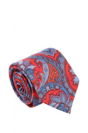 Галстук Ascot. Цвет: красный, синий, голубой, бордо
