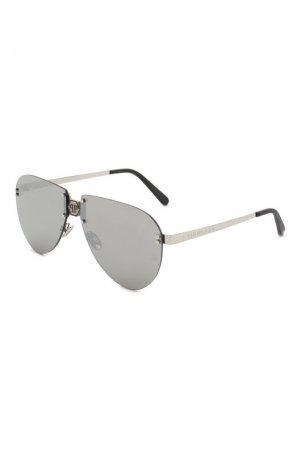 Солнцезащитные очки Philipp Plein. Цвет: серый