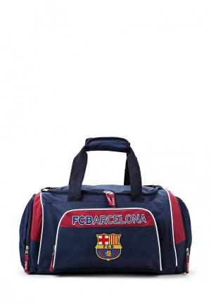 Сумка спортивная Atributika & Club™ FC Barcelona. Цвет: синий
