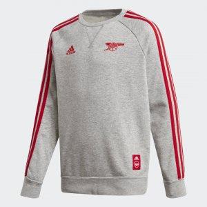 Джемпер Арсенал Performance adidas. Цвет: серый