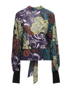 Блузка HANITA. Цвет: фиолетовый